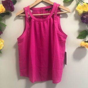 IRIS NWT Pink Sleevless Tank / Blouse